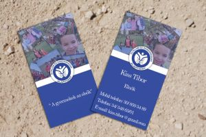 Business Card for a Foundation by KungfuHamster