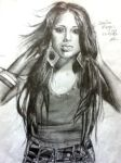 Jasmine Villegas drawing by joksie