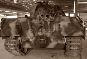 Panzerbefehlswagen V PANTHER Ausf. A  Sd.Kfz. 267b by cailleachdhubh