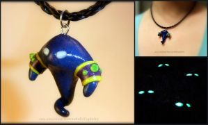 Voidwalker Minion Necklace - WoW Inspired by Euphyley