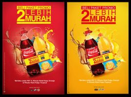 Coke Minute Maid Promo by ronaldesign
