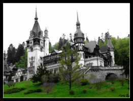 peles castle by PurpleAlexa
