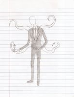 Slender Man by TheEndlessString