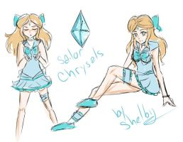 Sailor Chrysalis by lilYumi-chan
