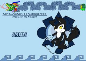 Atzayacatl the Ahuizotl  xXSonic ChannelXx by PrincessShadyk