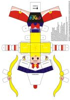 Sailor Moon Paper Doll by Willianac