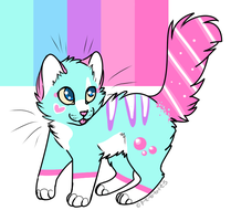 Adoptable:OVERSPARKLE by Collieh