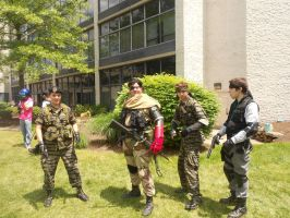 AnimeNext 2014 Metal Gear Solid Photoshoot 2 by demonart2