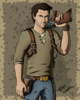Nathan Drake - PS All Stars by Toonexterminator