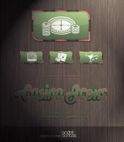 Casino icons by GoiSAgueX