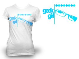 Geek Girl T-Shirt by Carlangueitor