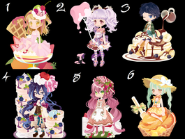 Free wta Adoptables sweet batch {CLOSED} by faeryhond