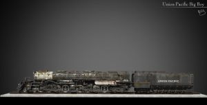 Union Pacific Big Boy. side by nieaCry