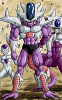 DBM HD coloring Cold3rd form by BK-81