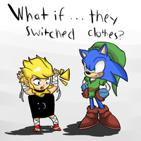 Sonic- A link between lost worlds by thegamingdrawer