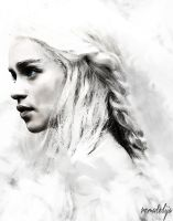 Khaleesi-Mother of Dragons by remadelija