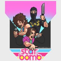 Starbomb Album Cover Design by DirkPower