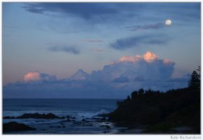 Full moon rising by DesignKReations