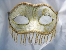 Oriental Dream Mask - Gold by nightingales-rose