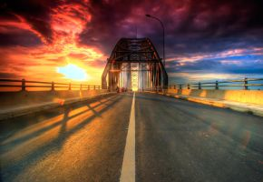 HDR Rumpiyang Bridge by a2udoank