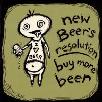 New Beer's Resolution by Artifictions