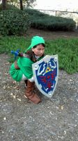 Link cosplay 2 by slygirl1999