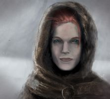 Ygritte the Redhead by SalReaper666