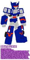 VERTEX Soundwave by InvaderToum