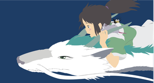 Spirited away by Cresceria