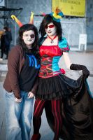 Terezi and Vriska by Pony-UnTastic