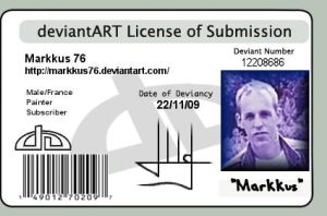 ID Licence by Markkus76