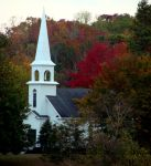 Childrens Chapel in the fall by Alabamaphoto