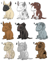Clavos' Phantom Hound Pup Adoptables by Tooel