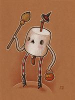 Marshmallow Guy - sketch by grelin-machin