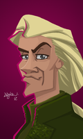 Lucius Malfoy by dankershaw