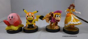 Fourth Set Amiibos by ChibiSilverWings