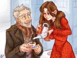 Clara and 8.5 by Redundantthoughts
