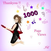 thankyou 1000 page views by snakegirl94