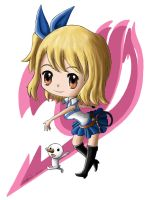Chibi Lucy by Popokino