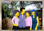 Selma ,Vincent ,Patty, Marge - v1 by VMJML1er