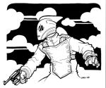 Rocketeer Commission by JoelRCarroll