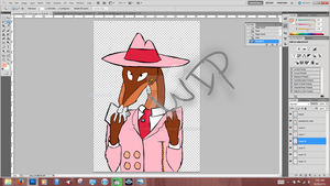 WIP Smartass by CindyTheBlueWhtMage