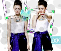 Lucy Hale BlueWhite by Sweet-Tizdale