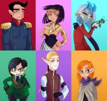 CHARACTERS, WOW by YAANKO