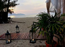 Beach of Golden Sands Shangri La Penang by lordmusan