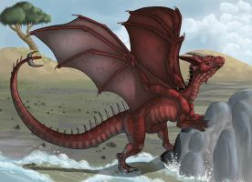 Commission: Draco Cretel by AltairSky