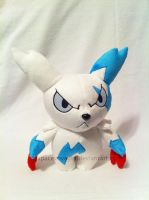Shiny Zangoose by PlanetPlush