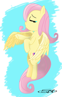 Crying Fluttershy by LightDragon87