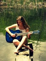 Forget about the world and just play a song by Annas-Day-Dreams