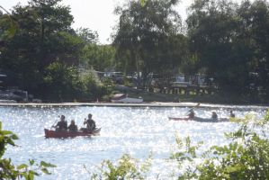 Kayaking and Canoing On the Charles, Summer Day 4 by Miss-Tbones